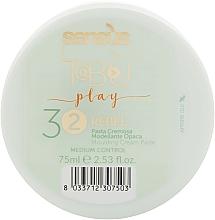 Духи, Парфюмерия, косметика Кремообразная паста средней фиксации для волос - Sensus Tabu Rebel 32