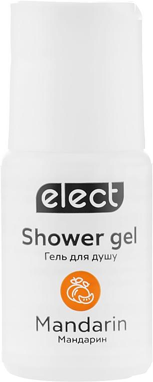 """Гель для душа """"Мандарин"""" - Elect Shower Gel Mandarin (мини)"""