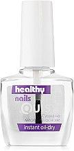 Парфумерія, косметика Сушка-спрей на олійній основі - Quiss Healthy Nails №8 Instant Oil-Dry