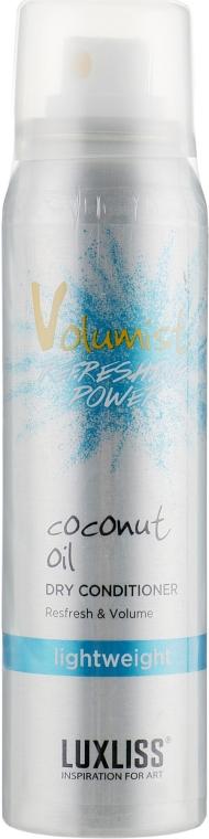 Сухой кондиционер для волос - Luxliss Volumist Coconut Oil Dry Conditioner