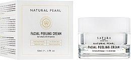Духи, Парфюмерия, косметика РАСПРОДАЖА! Крем-пилинг для лица, на основе минералов Мертвого моря - Satara Natural Pearl Facial Peeling Cream