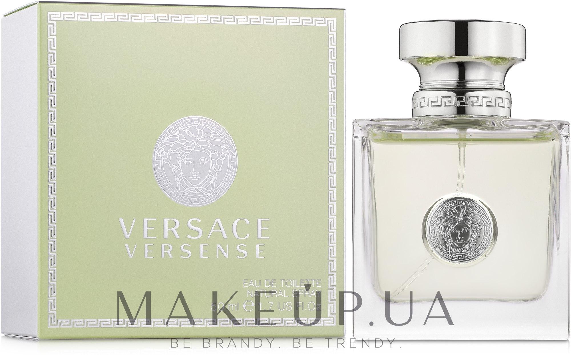 Versace Versense - Туалетная вода — фото 50ml