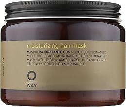 Духи, Парфюмерия, косметика Маска для увлажнения волос - Oway Moisturizing Hair Mask (Стекло)
