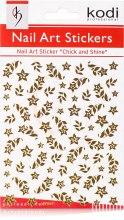 Духи, Парфюмерия, косметика Наклейки для дизайна ногтей - Kodi Professional Nail Art Stickers SP044