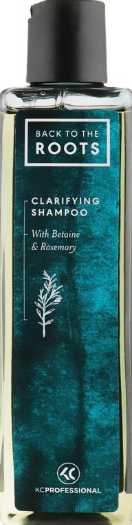 Шампунь для глубокого очищения - KC Professional Back To The Roots Clarifying Shampoo