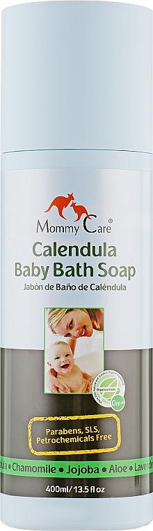 Средство для купания младенцев с органической календулой - Mommy Care Calendula Baby Bath Soap