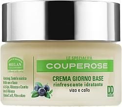Духи, Парфюмерия, косметика Крем дневной освежающий и увлажняющий для лица и шеи - Helan Couperose Base Day Cream DDcream