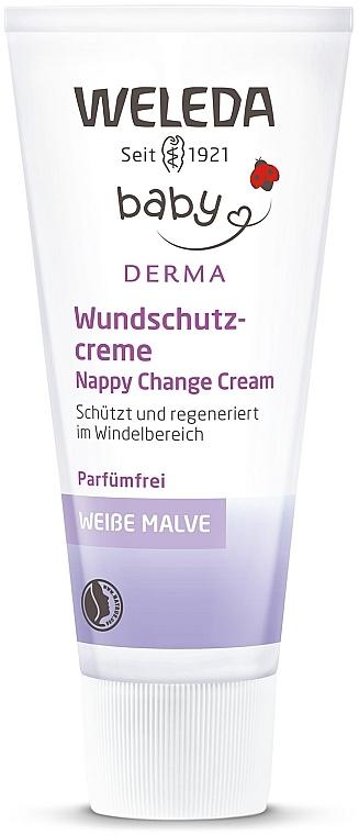 Крем от опрелостей и пеленочной сыпи с алтеем для гиперчувствительной кожи - Weleda Weisse Malve Babycreme