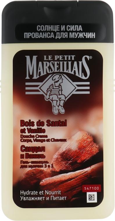 """Гель для душа """"Сандал и ваниль"""" - Le Petit Marseillais Shower Gel"""