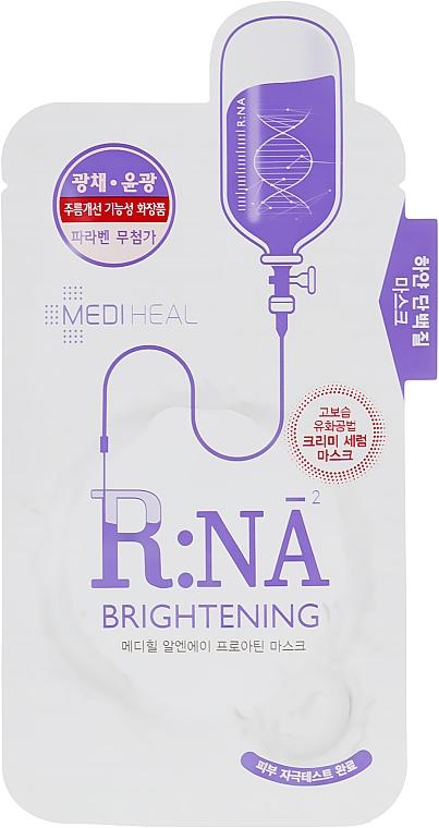 Осветляющая маска для лица с аминокислотами - Mediheal R:NA Whitening Proatin Mask