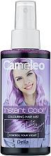 Духи, Парфюмерия, косметика Оттеночный спрей для волос - Delia Cameleo Instant Color