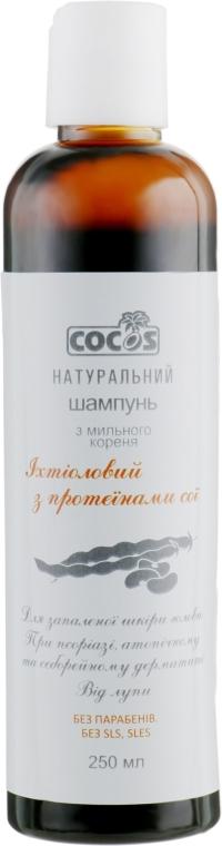 Шампунь из мыльного корня Ихтиоловый - COCOS