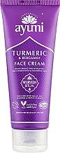 Духи, Парфюмерия, косметика Крем для лица с куркумой и бергамотом - Ayumi Turmeric & Bergamot Face Cream
