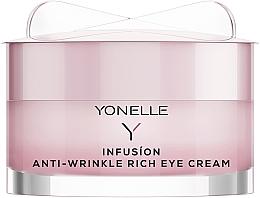 Духи, Парфюмерия, косметика Крем для кожи вокруг глаз - Yonelle Infusion Anti-Wrinkle Rich Eye Cream