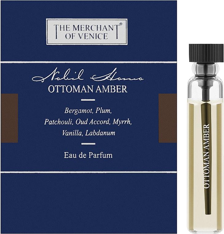 The Merchant Of Venice Ottoman Amber - Парфюмированная вода (пробник)