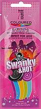 Духи, Парфюмерия, косметика Крем для загара в солярии разогревающий - 7suns Swanky Hot (пробник)