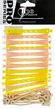 Духи, Парфюмерия, косметика Бигуди-коклюшки d7, желто-розовые - Tico Professional