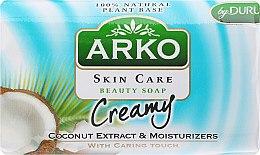 Парфумерія, косметика Мило - Arko Beauty Soap Creamy Coconut & Cream