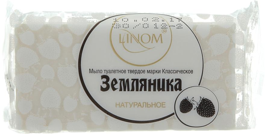"""Натуральное мыло туалетное """"Земляника"""" - Linom"""