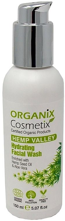 Увлажняющее средство для умывания лица - Organix Cosmetix Hydrating Facial Wash