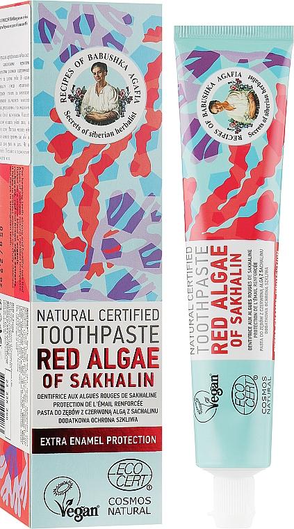 Натуральная зубная паста с красными водорослями из Сахалина - Рецепты бабушки Агафьи