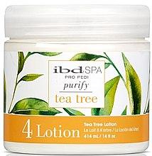 Духи, Парфюмерия, косметика Очищающий массажный лосьон для ног с экстрактом чайного дерева - IBD Spa Tea Tree Purify Pedi Spa Massage Lotion
