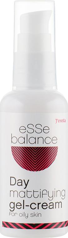 Гель-крем дневной матирующий для жирной кожи - J'erelia Esse Balance