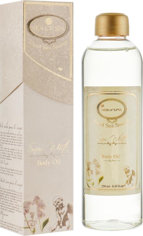 Парфюмированное сухое масло для тела - Sea Of Spa Snow White Dry Body Oil