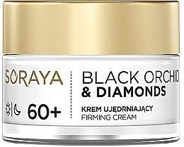 Духи, Парфюмерия, косметика Укрепляющий крем для лица - Soraya Black Orchid & Diamonds 60+ Firming Cream