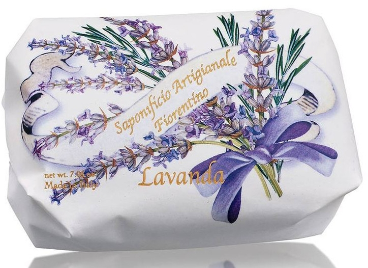 """Мыло туалетное """"Лаванда"""" - Saponificio Artigianale Fiorentino Lavender"""