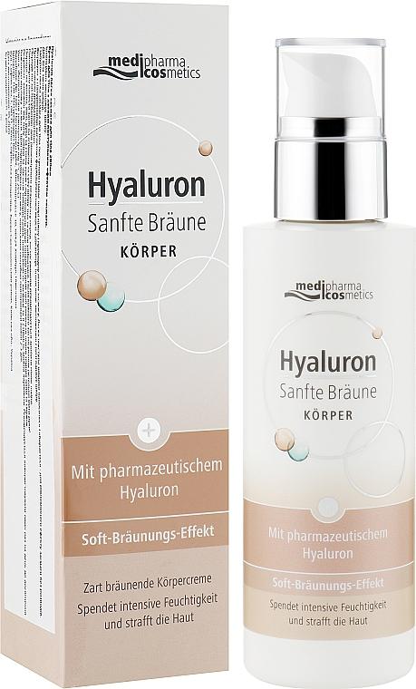 Крем для тела с легким постепенным эффектом загара - Pharma Hyaluron Self-Tanning Body Cream