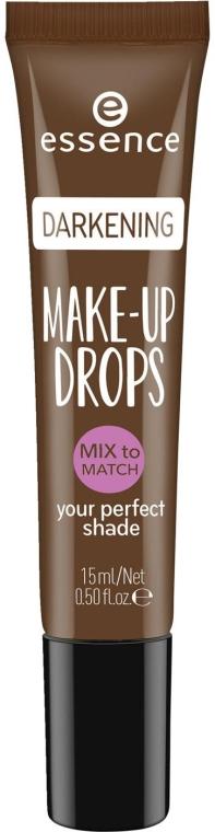 Капли для затемнения тональной основы - Essence Make Up Drops Darkening