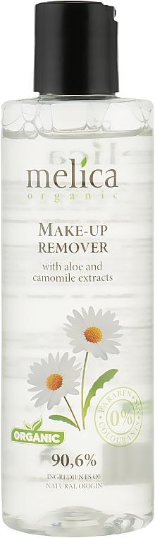 Средство для снятия макияжа с экстрактом алоэ и ромашки - Melica Make-Up Remover