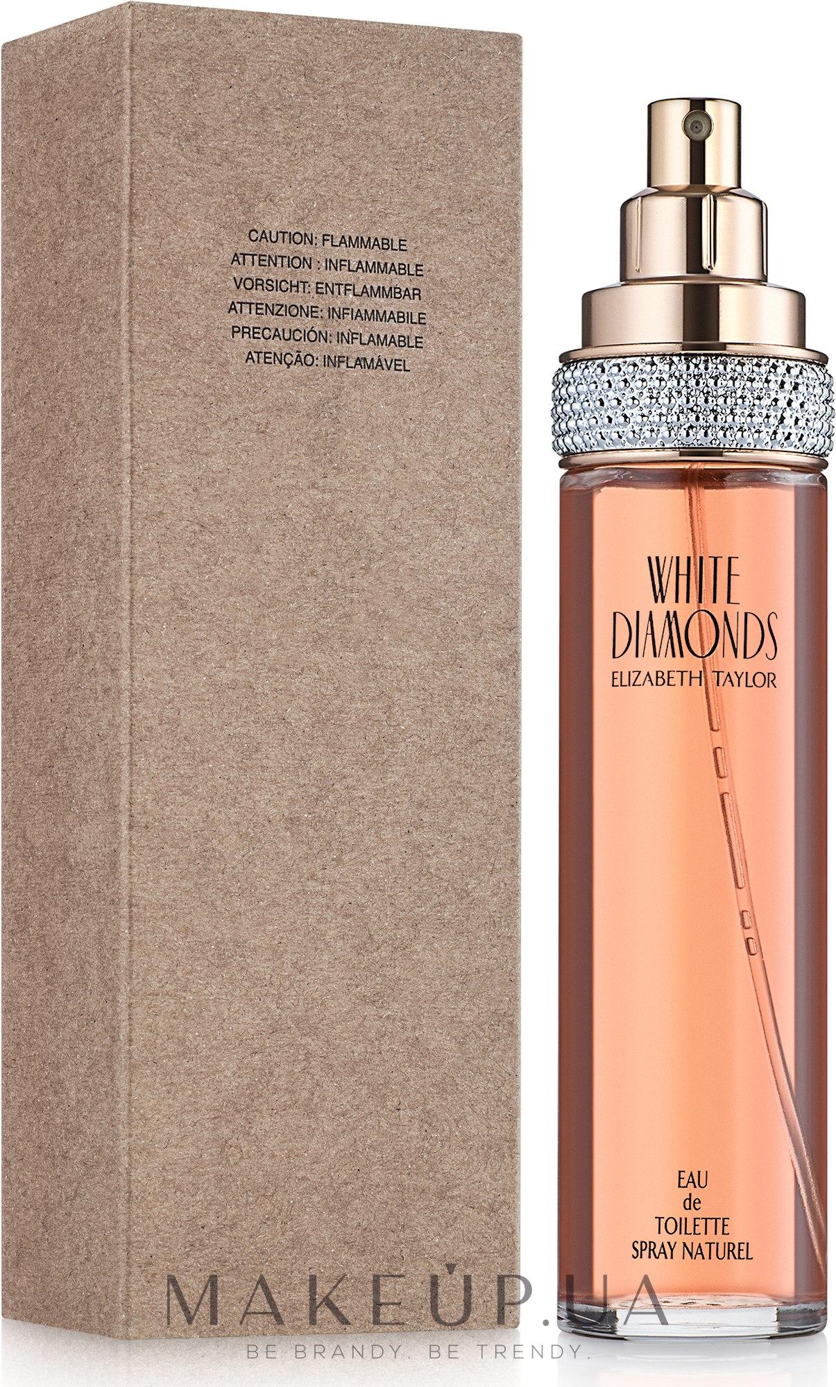 Elizabeth Taylor White Diamonds - Туалетная вода (тестер без крышечки) — фото 100ml