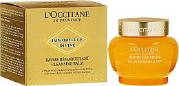 Парфумерія, косметика Очищувальний бальзам для обличчя - L'Occitane Immortelle Divine Cleansing Balm