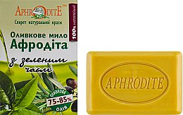 Духи, Парфюмерия, косметика Оливковое мыло с зеленым чаем - Aphrodite Olive Oil Soap With Green Tea
