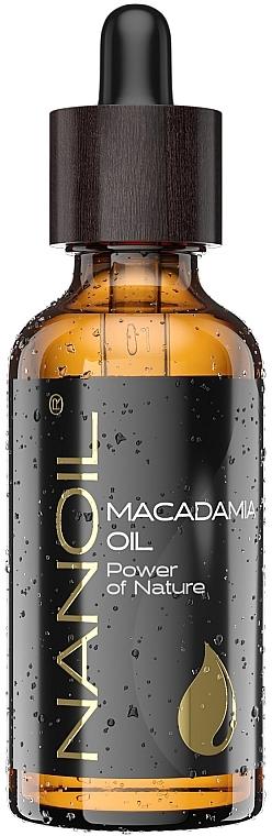Масло макадамии - Nanoil Body Face and Hair Macadamia Oil