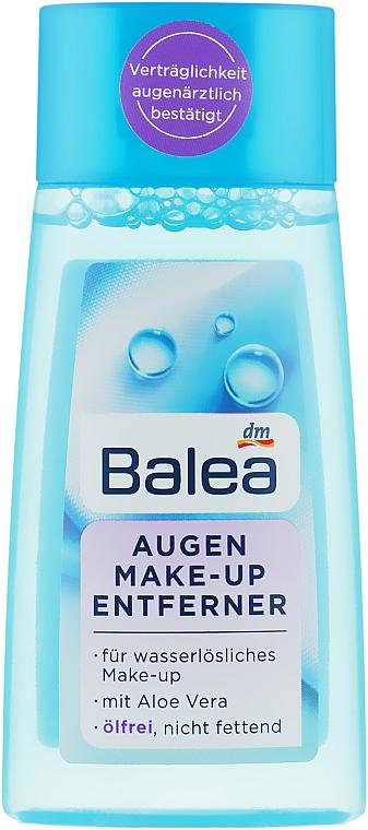 Средство для снятия макияжа с глаз без масла - Balea Augen-Make-Up Entferner