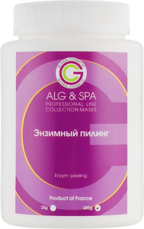 Маска Энзимный пилинг - ALG & SPA Professional Line Collection Masks Enzym Peeling