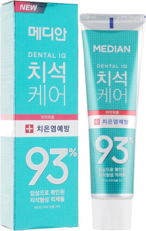 Зубная паста для предотвращения гингивита и воспаления десен со вкусом мяты - Median Toothpaste Prevent Gingivitis