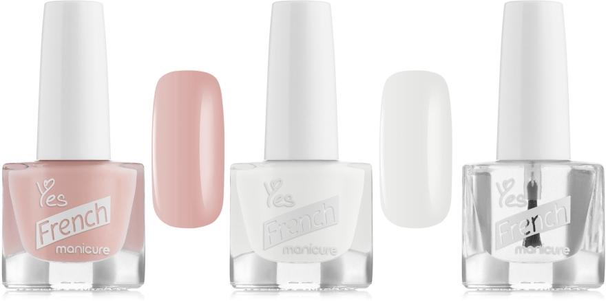Набор для французкого маникюра 403 - Yes (polish/4,5g + polish/4,5g + polish/4,5g)