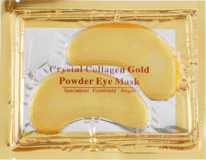 Антивозрастные гидрогелевые патчи под глаза против морщин с морским коллагеном - King Rose Collagen Crystal Eye Mask