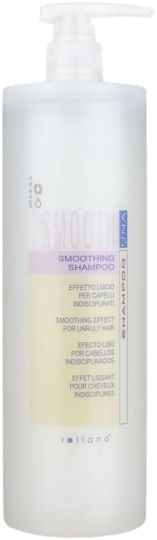 Шампунь для разглаживания волос - Rolland Una Smooth Smoothing Shampoo