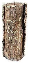 Духи, Парфюмерия, косметика Ароматическая свеча, 8,5х21,5 см., пень коричневый - Artman Stump Valentin