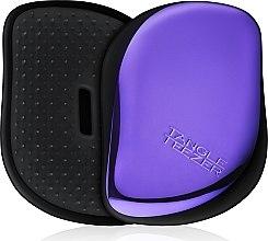 Духи, Парфюмерия, косметика Компактная расческа для волос - Tangle Teezer Compact Styler Purple Dazzle Brush