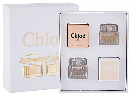 Chloe Mini Set - Набор (edp/5ml + edp/5ml)