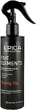 """Духи, Парфюмерия, косметика Спрей для волос """"Five Elements"""" сильной фиксации с термозащитным комплексом - Epica Professional Strong Fix Spray"""