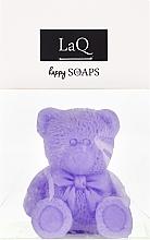 """Натуральное мыло ручной работы """"Маленький медведь"""" с ароматом лаванды - LaQ Happy Soaps Natural Soap — фото N1"""