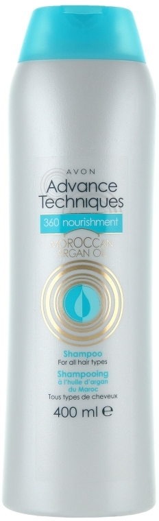 """Питательный шампунь """"Комплексный уход"""" - Avon Advance Techniques 360 Nourish Moroccan Argan Oil Shampoo"""