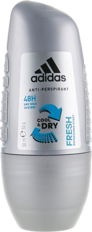 Роликовый дезодорант - Adidas Anti-Perspirant Fresh Cool Dry 48h